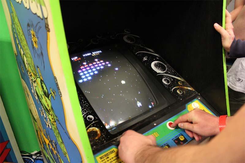 Galaga Retro Game Spielautomat