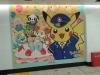 Überall findet man Werbung zu Pokémon