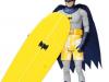 batman surfbrett actionfigur