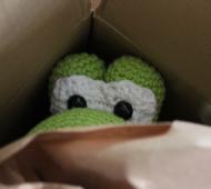 Nintendo Yoshi gehäkelt crochet