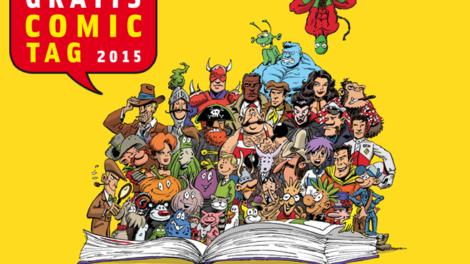 Neuer Lesestoff: Gratis Comic Tag 2015 mit Übersicht