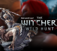 The Witcher 3 Wild Hunt Collectors Edition Figur Geralt Greif