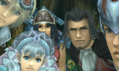 Xenoblade Chronicles Dunban Team