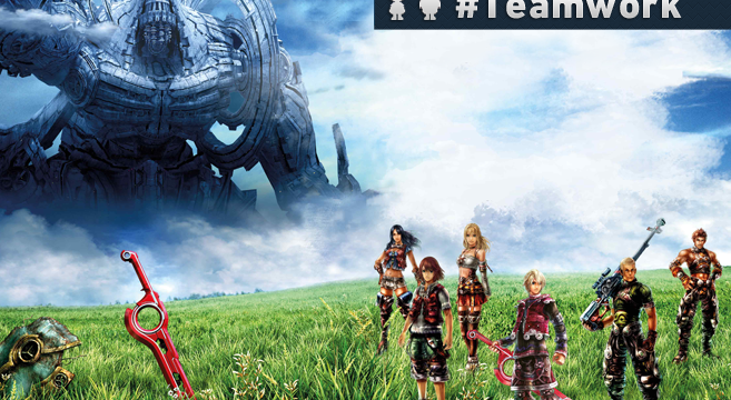 xenoblade chronicles teamwork gamephilephoto