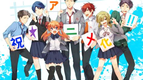 Gastnerd: Gekkan Shoujo Nozaki-kun Anime Review