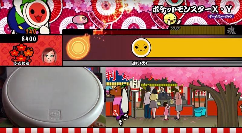 taiko no tatsujin gameplay