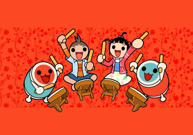Sam trommelt: Taiko no Tatsujin – Drum Master Wii U Version