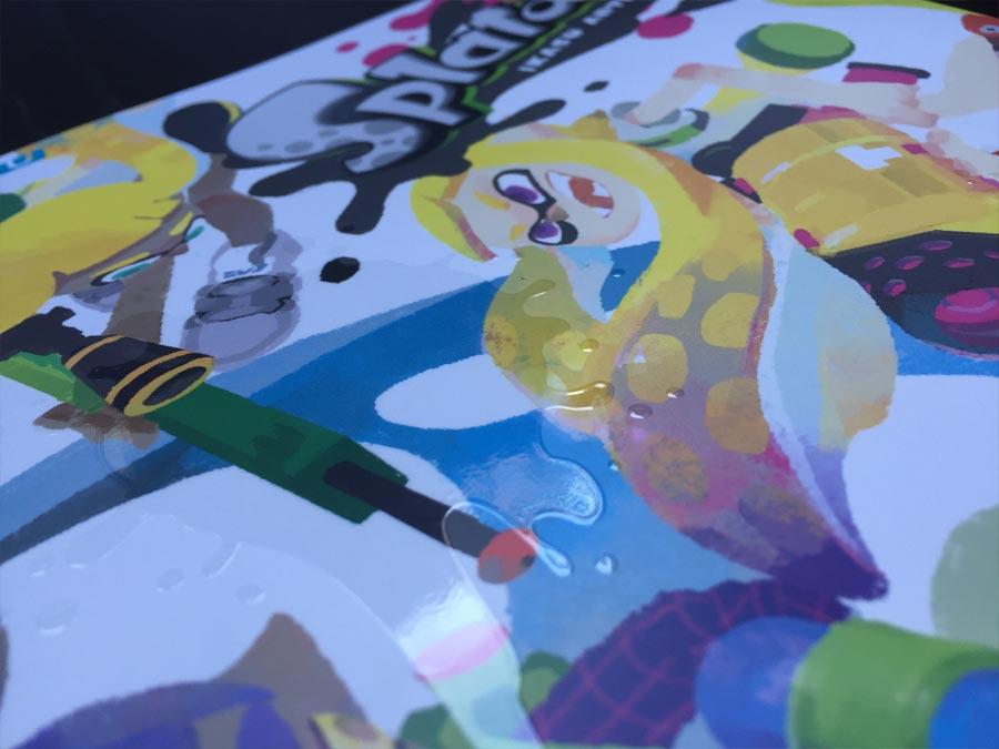 splatoon artbook splatune soundtrack
