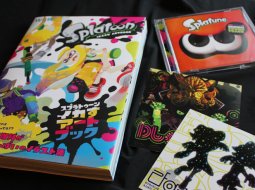 splatoon artbook splatune soundtrack