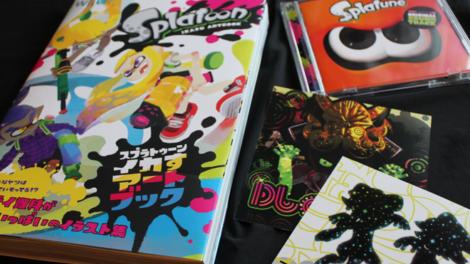 Sam packt aus: Splatoon Artbook und Splatune Soundtrack