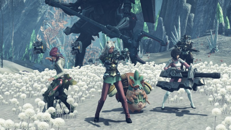 Xenoblade Chronicles X team