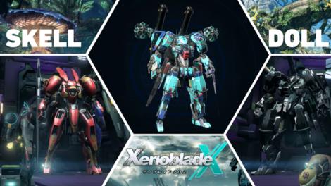 Xenoblade Chronicles X - Dolls und Skells im Überblick (spoilerfrei)