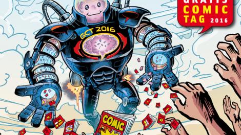 Neuheiten am Gratis Comic Tag 2016
