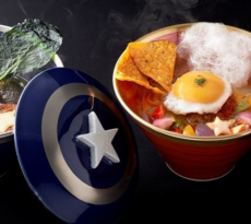 Ramen Set Iron Man Captain America Civil War Japan
