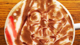 Star Wars Kaffee Kunst in der Tasse