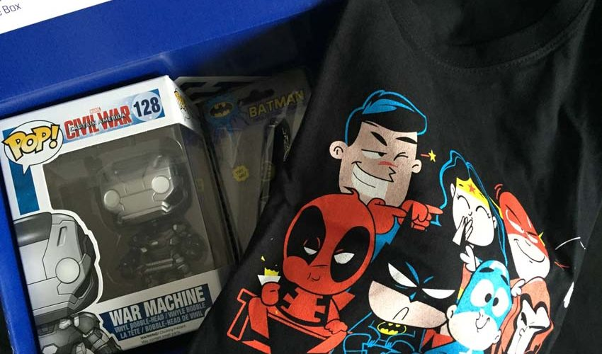 Sam packt aus: Gamestar #Wootbox zum Thema Superhelden