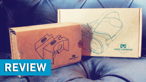 Magic Cardboard -Virtual Reality Brillen im Test