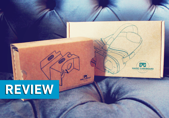 Magic Cardboard – Virtual Reality Brillen im Test