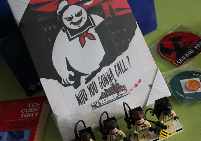 Sam packt aus: Gamestar #Wootbox zum Thema Retro