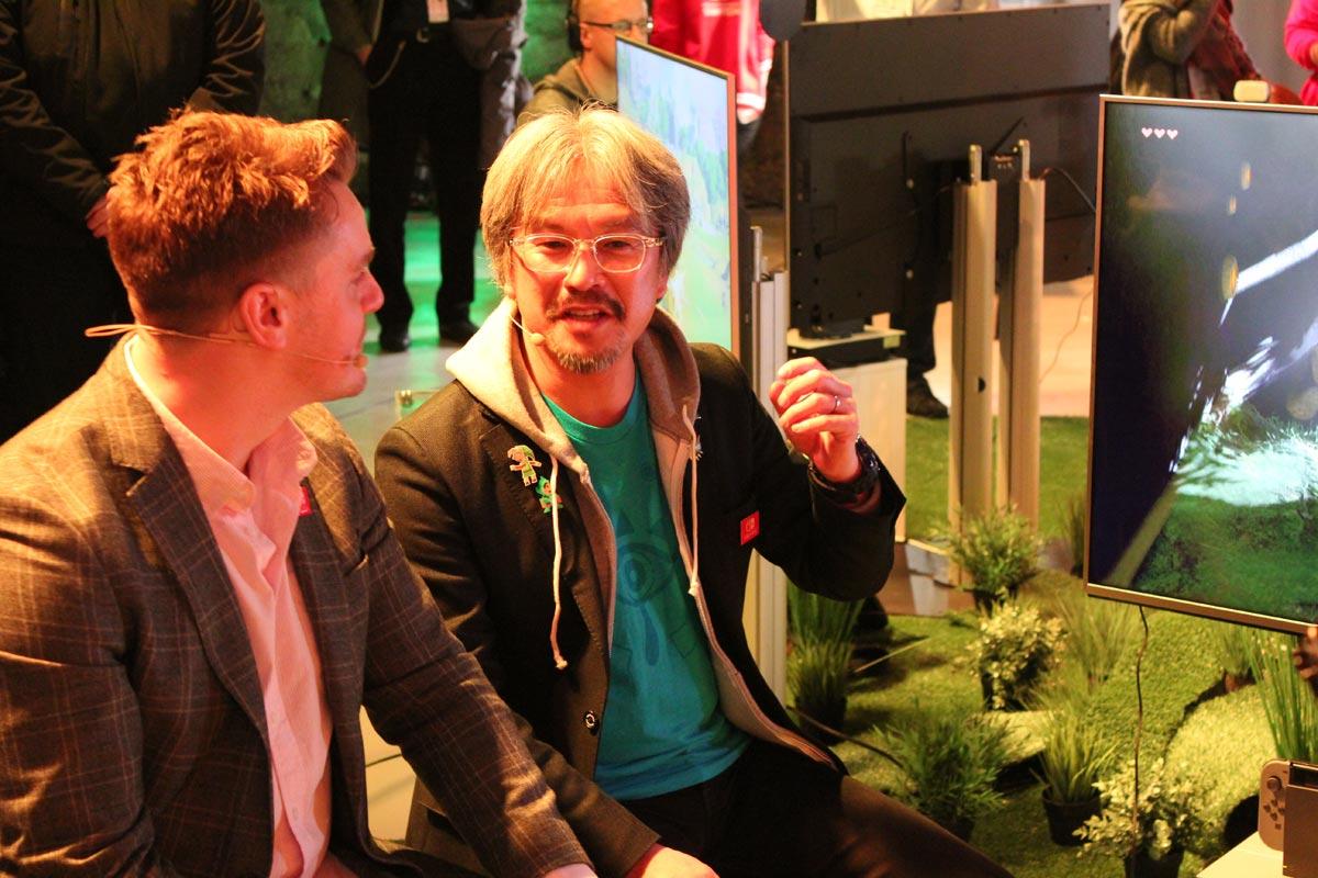 Nintendo Switch Event München The Legend of Zelda - Breath of the Wild - Eiji Aonuma