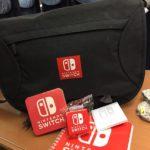 Nintendo Switch Event München Tasche Merchandise