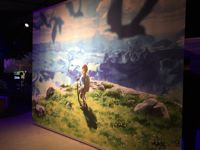 Nintendo Switch Event München The Legend of Zelda - Breath of the Wild