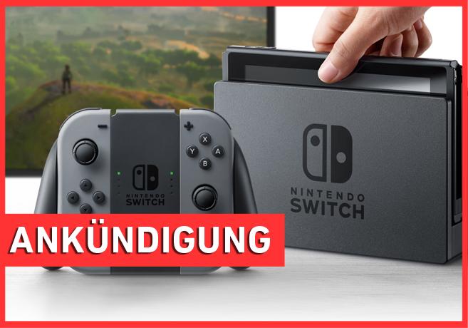 #LiveZurSwitch - Präsentation Nintendo Switch Twitch Stream
