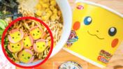Pikachu verzaubert die Suppe - Instant-Nudeln in der UMAI Crate