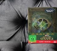 Doctor Strange Steelbook Blu-ray Detailfoto Prägung