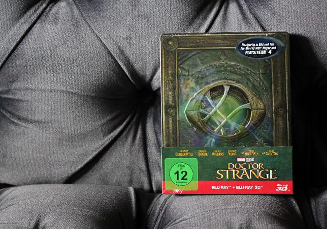 Doctor Strange Blu-ray Steelbook im Detail