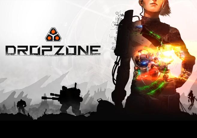 Dropzone - Science Fiction Echtzeit-Strategie -Steam Early Access