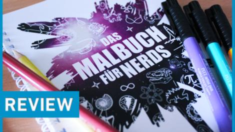 Ran an die Buntstifte - Das Malbuch für Nerds - Review