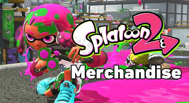 splatoon merchandise japan