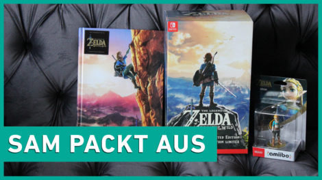 Sam packt aus: The Legend of Zelda: Breath of the Wild Limited Edition und amiibo