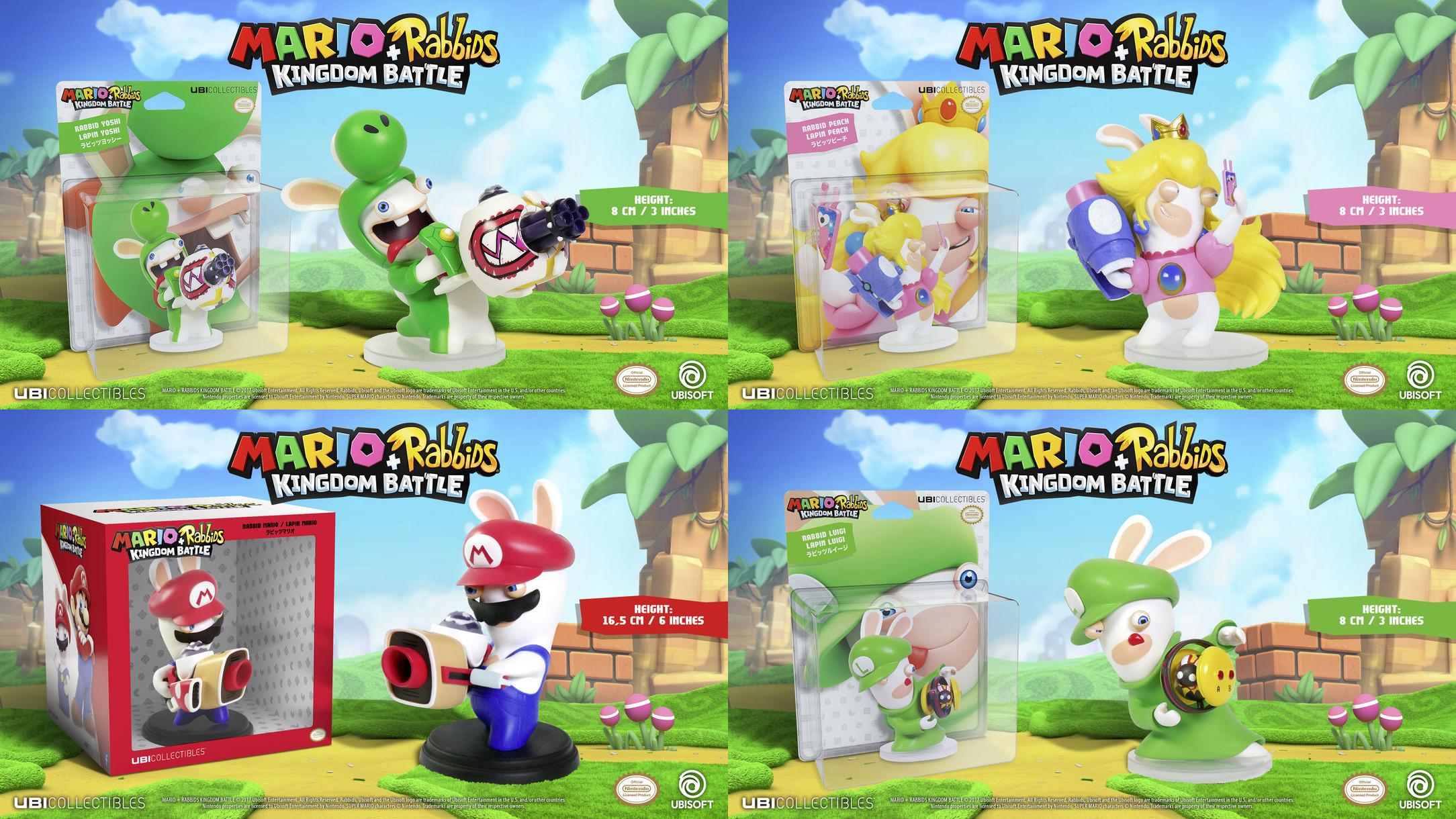 Mario + Rabbids® Kingdom Battle Collector Edition angekündigt