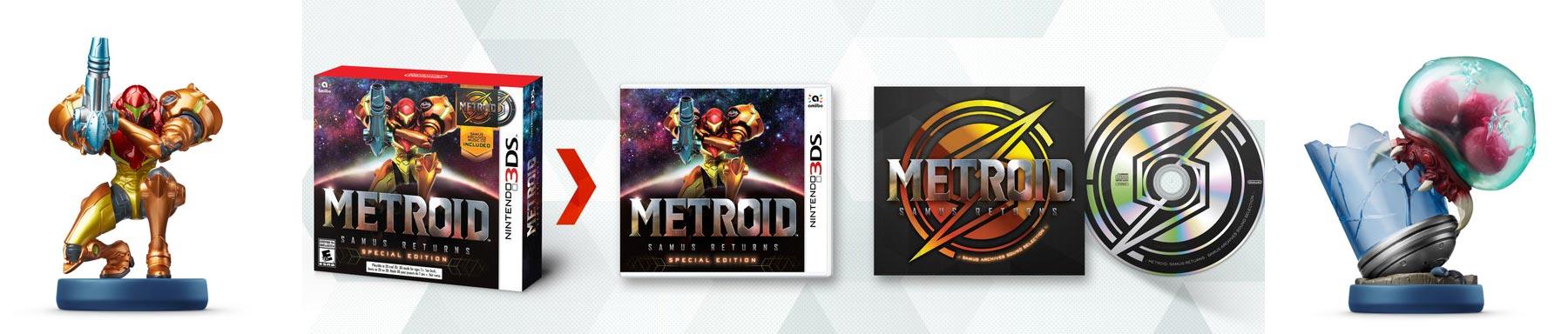 Metroid: Samus Returns Limited Edition amiibo