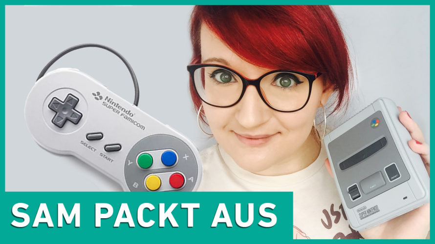 Sam packt aus: Nintendo Classic Mini Super Nintendo Entertainment System SNES Unboxing