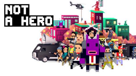 NOT A HERO: Super Snazzy Edition kommt mit neuen Inhalten für Nintendo Switch