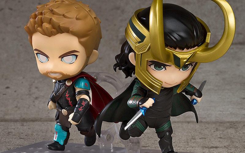 Good Smile stellt Thor: Ragnarok und Loki Nendoroid vor